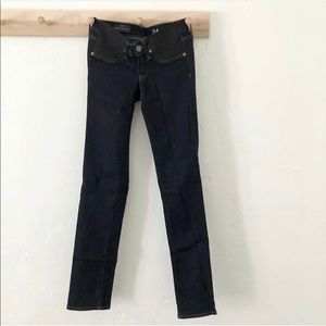 JCrew MATERNITY jeans side stretch panels